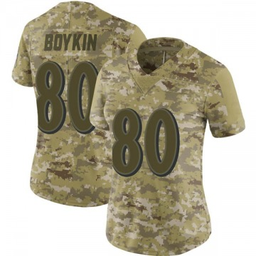 Women's Miles Boykin Baltimore Ravens Nike Limited 2018 Salute to Service Jersey - Camo