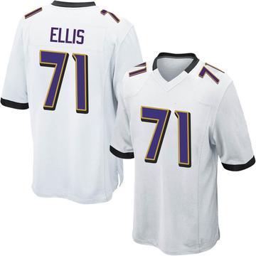 Youth Justin Ellis Baltimore Ravens Nike Game Jersey - White
