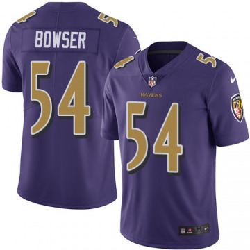 Youth Tyus Bowser Baltimore Ravens Nike Limited Color Rush Jersey - Purple